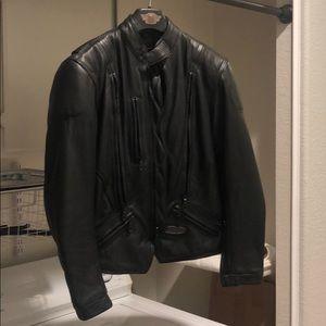 710fe708 Harley Davidson leather women jacket small